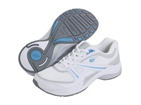 Spira Valencia White Grey Sky Women's Walking Shoes