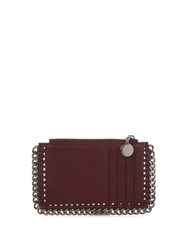 Stella Mccartney Falabella Coin Purse And Cardholder Burgundy