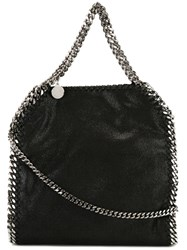 Stella Mccartney A Falabellaa Fold Over Tote Black