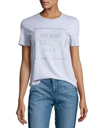 Opening Ceremony Established Short Sleeve Logo Tee Heather Gray
