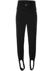 Marni Stirrup Trousers Black