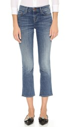 J Brand Selena Cropped Boot Cut Jeans Rise
