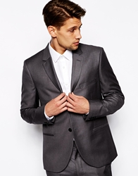 French Connection Gray Slim Fit Suit Jacket Grey