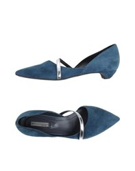 Vic Footwear Courts Women Slate Blue