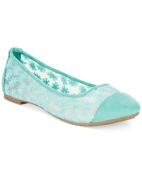 Rampage Larry Ballet Flats Women's Shoes Mint