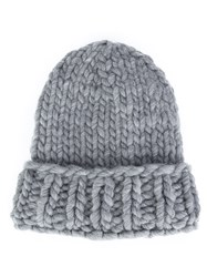 Christopher Raeburn Hand Knit Hat Grey