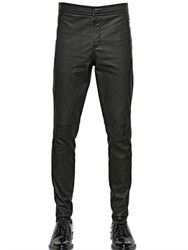 Givenchy Stretch Nappa Leather Trousers