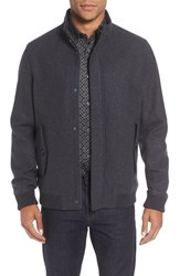 Ted Baker Men's London Wool Bomber Jacket