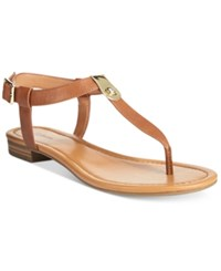 Styleandco. Style And Co. Baileyy Thong Sandals Only At Macy's Women's Shoes Saddle