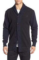 G Star Men's G Star Raw 'Harm Aero' Shawl Collar Cardigan