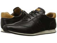 Cole Haan Trafton Vintage Trainer Black Leather Women's Shoes