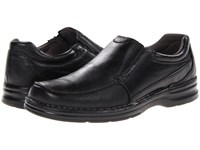 Nunn Bush Patterson Black Men's Plain Toe Shoes