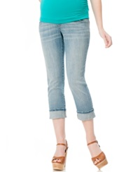 Motherhood Maternity Cropped Straight Leg Jeans