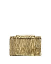 Halston Heritage Wallet On Chain Crossbody Bag Gold