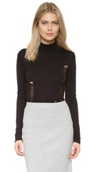 Cheap Monday Turtleneck Pullover Black