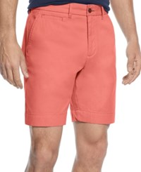 Tommy Hilfiger Custom Fit Chino Shorts Sconset Red