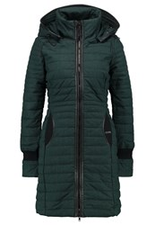 Khujo Daily Winter Coat Pine Evergreen
