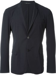 Emporio Armani Two Button Blazer Blue