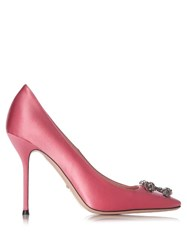 Gucci Dionysus Satin Pumps Light Pink
