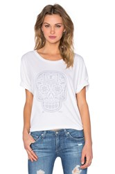 Obey Day Of The Dead Ramona Tee White