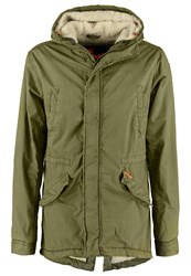 Superdry Rookie Parka Deepest Army Green