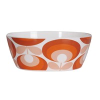 Orla Kiely '70S Flower Red Salad Bowl