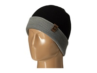 686 Waffe Roll Up Beanie Black Knit Hats