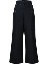 Marc Jacobs Cropped Trousers Black