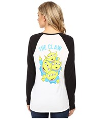 Vans The Claw White Black Women's T Shirt