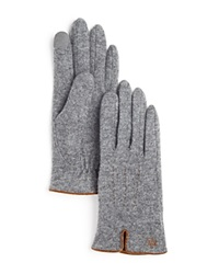 Lauren Ralph Lauren Tech Gloves Gray Heather