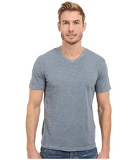 Mod O Doc El Porto Short Sleeve V Neck Tee Castlerock Men's T Shirt Gray