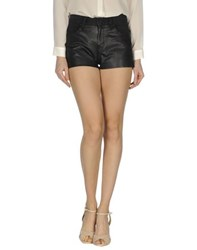 Eleven Paris Denim Denim Shorts Women Black