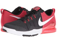 Nike Zoom Train Action Black White Wolf Grey Action Red Men's Cross Training Shoes