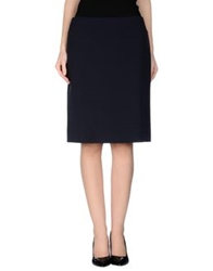 Calvin Klein Collection Knee Length Skirts Lead