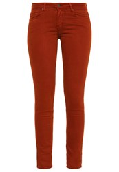 Cimarron Lana Slim Fit Jeans Backed Clay Brown