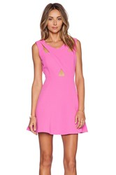 J.O.A. Fit And Flare Dress Pink