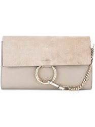 Chloe 'Faye' Clutch Bag Grey