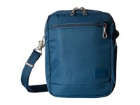 Pacsafe Citysafe Cs75 Anti Theft Crossbody Travel Bag Teal Cross Body Handbags Blue