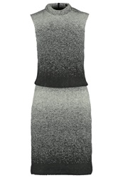 More And More Jumper Dress Grey Melange