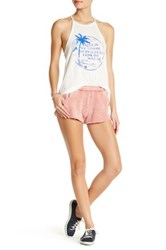 Billabong Much Love Elastic Short Pink