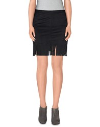 Twenty Easy By Kaos Skirts Mini Skirts Women Black