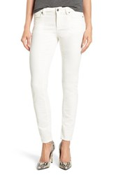 Vince Camuto Women's Two By Washed Velvet Skinny Jeans Vanilla