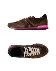Serafini Sport Low Tops And Trainers Dark Brown