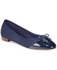 Cole Haan Sarina Ballet Flats Women's Shoes Denim
