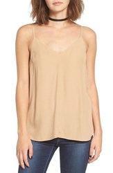 Women's Bp. Double V Camisole Tan Toffee