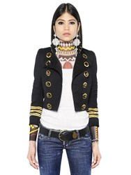 Dsquared Wool Military Jacket