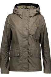 Belstaff Kruse Cotton Gabardine Jacket Army Green