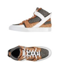 Giacomorelli High Tops And Trainers Steel Grey