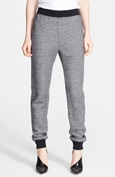 Alexander Wang 'Robust' French Terry Sweatpants Black Bone