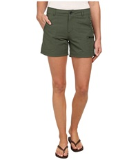 Woolrich Rock Line Shorts Olive Drab Women's Shorts